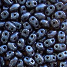 Miniduo Beads Blue Suede - 5 grams